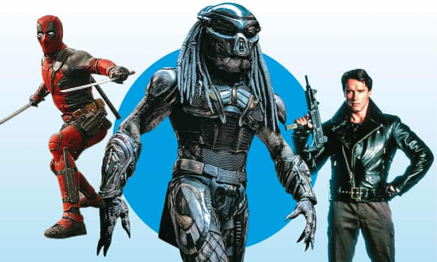 Deadpool, The Predator and The Terminator.