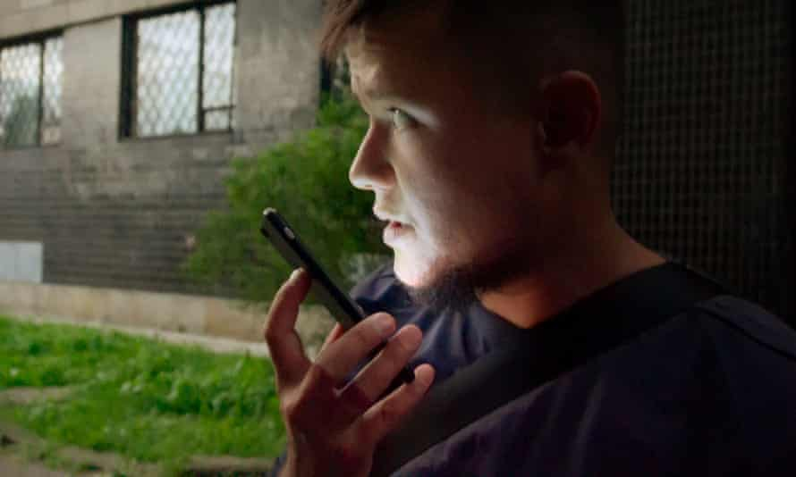 David Isteev, a crisis response co-ordinator for the Russian LGBT Network.