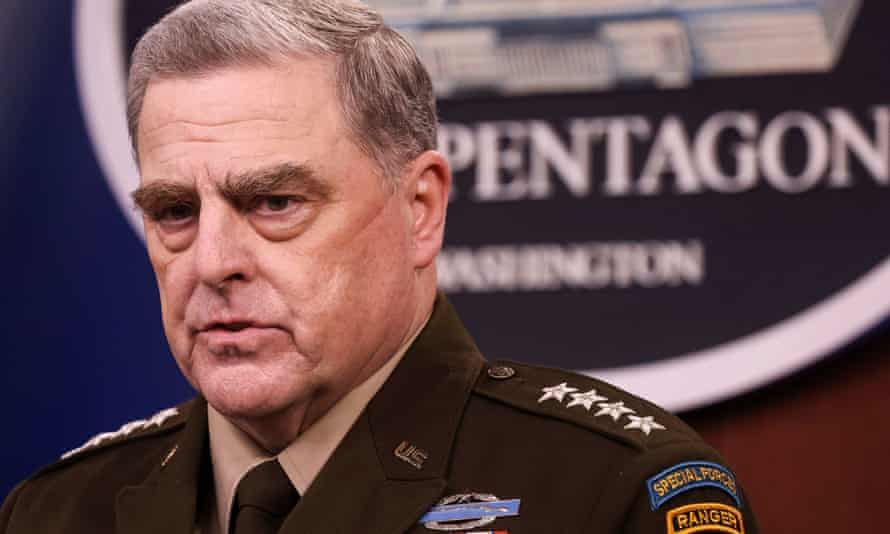 U.S. Joint Chiefs Chairman General Mark Milley
