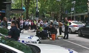 Bourke street accident