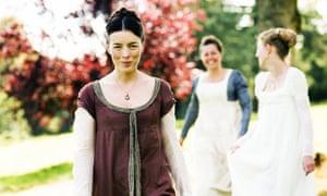 Olivia Williams Left As Jane Austen In The BBC Drama Miss Regrets
