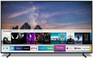 Samsung's smart TVs