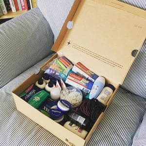 An example of a Beauty Banks donation.