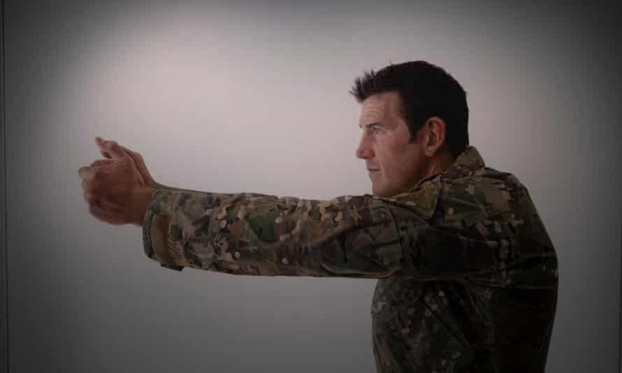 A portrait of Ben Roberts-Smith VC by Michael Zavros which is on display in the Australian War Memorial in Canberra.