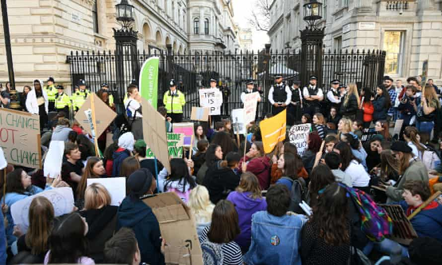 UK climate change protest