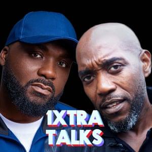 Radio 1Xtra's Ace and Seani B.