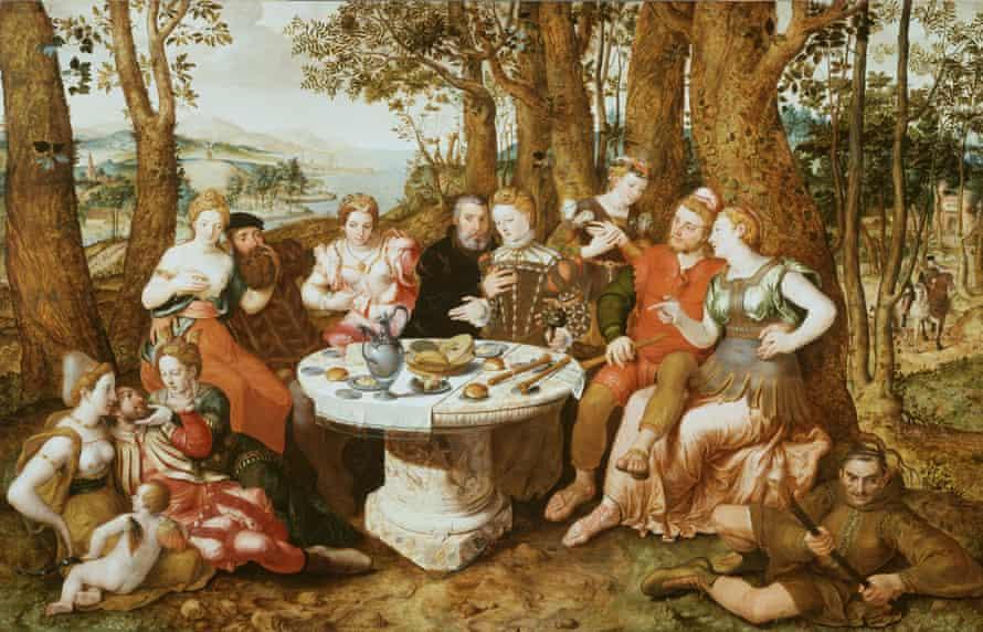 Pieter Pourbus – An Allegory of True Love c1547