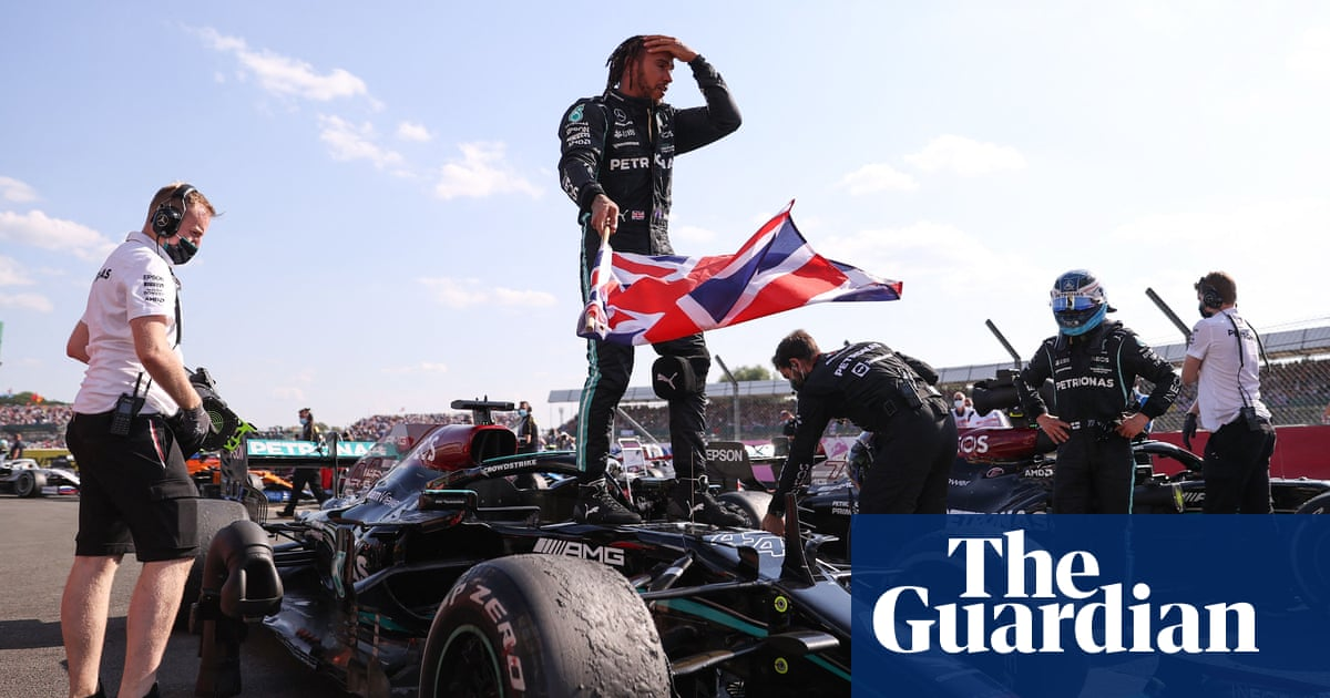 F1 condemns online racist abuse of Lewis Hamilton after British GP victory