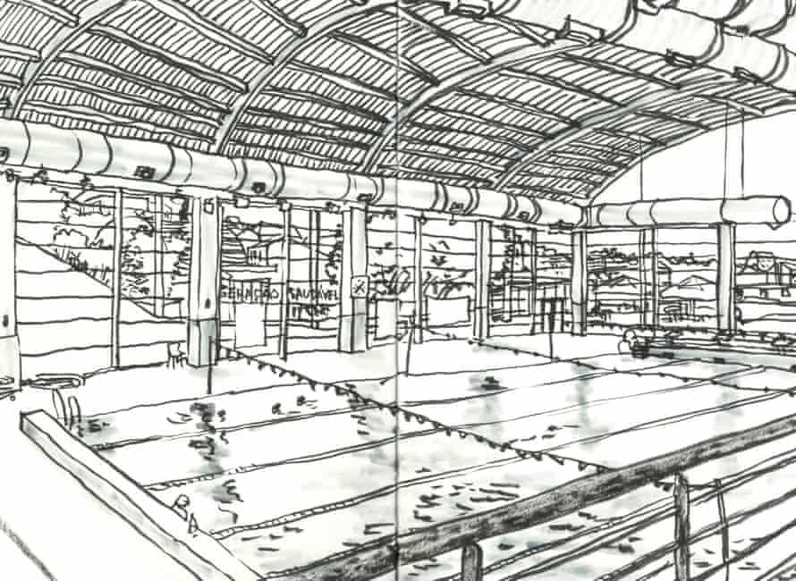 Indoor swimming pool, Clube Nacional de Natação, Rua de S. Bento