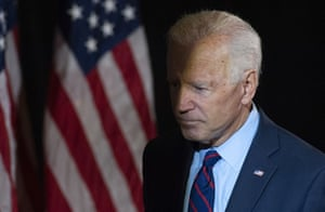 'Biden joined only a handful of Democrats in backing a Republican proposal to enshrine small government into the constitution through a balanced budget amendment.'