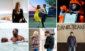 And the contenders are … Bafta nominees Nocturnal Animals, La La Land, Arrival, I Daniel Blake, Manchester by the Sea and Moonlight
