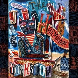 James Yorkston: The Route to the Harmonium album artwork