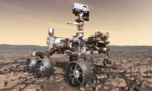 Nasa's Mars 2020 rover, due to launch in July next year.