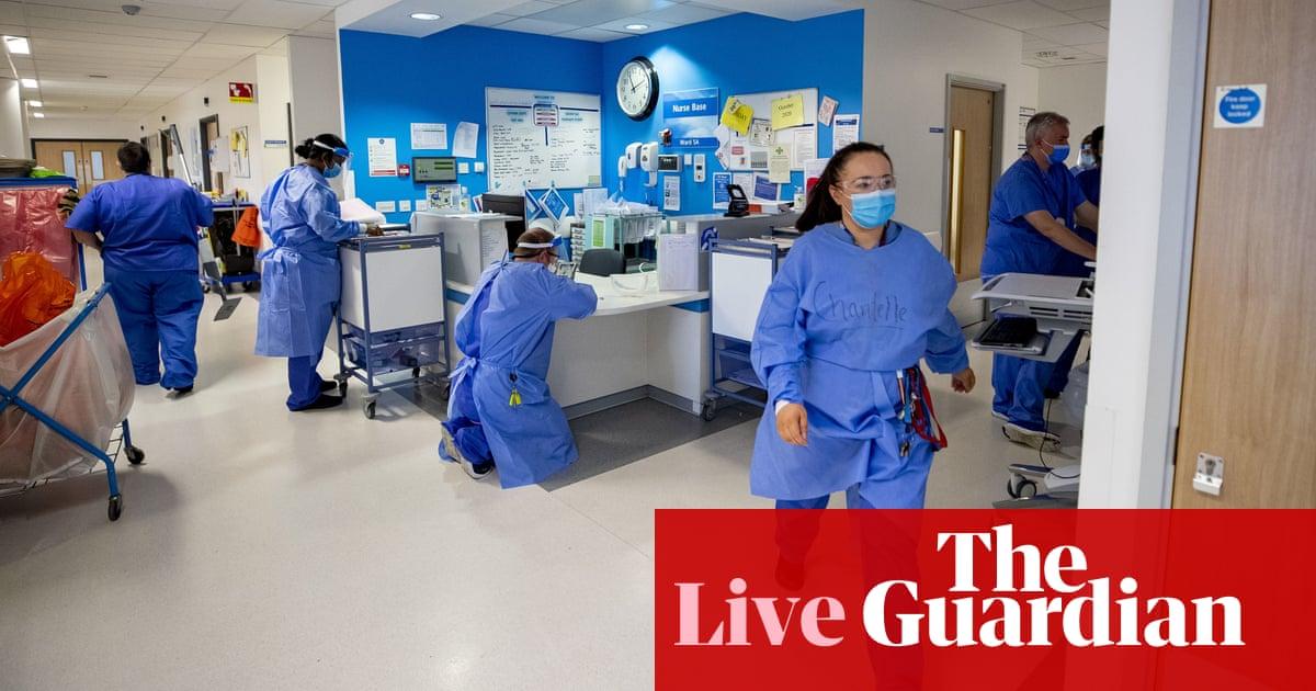 Coronavirus live news: England's NHS 'under similar pressure to January'; US maintaining travel restrictions