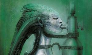 beyond alien the disturbing psychedelic artwork of hr giger art