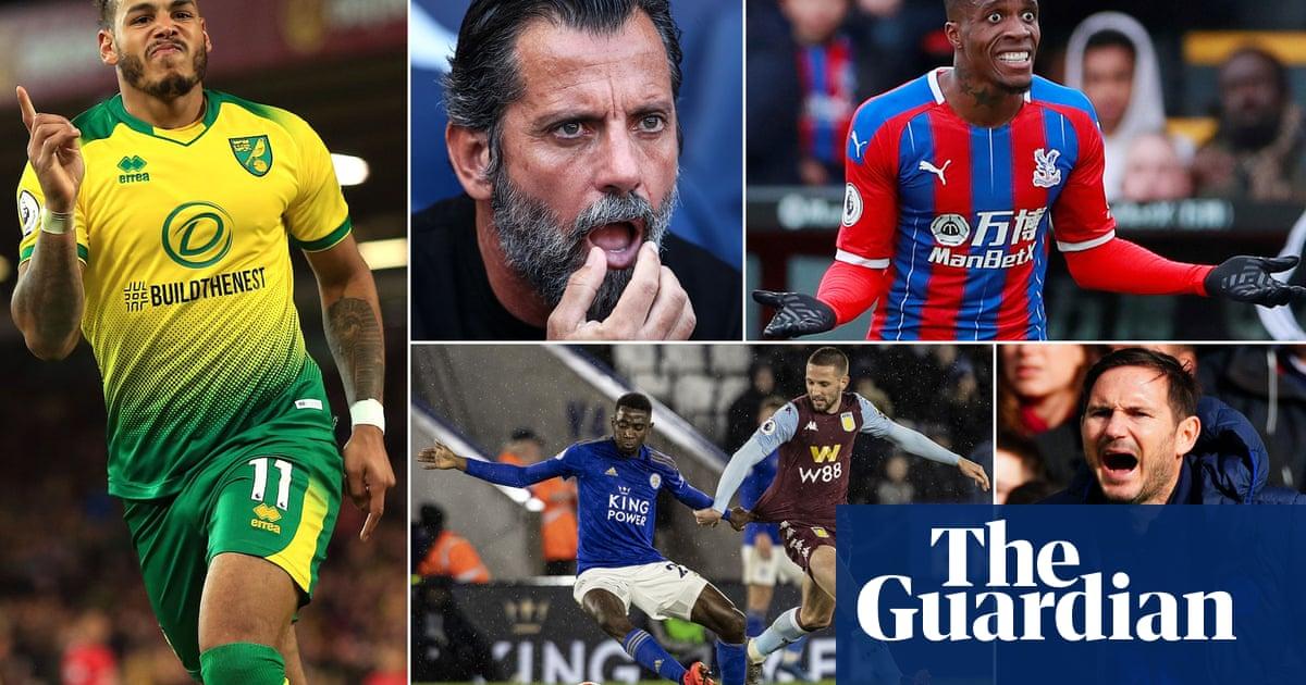 Football Quiz 20 Questions On The 2019 20 Premier League Season So Far Football The Guardian