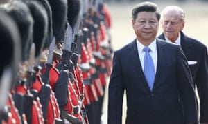 Xi Jinping on a state visit to Britain in October 2015. Leading lawyers from western countries are urging him to abandon his crackdown on legal campaigners.