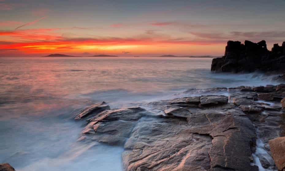 Sunset Over Samson