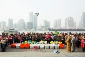 Fang Sheng gathering, Shanghai Ferry Port (2015)