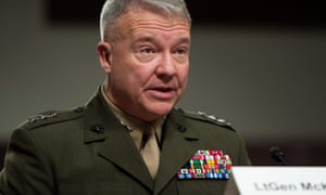 Lt Gen Kenneth McKenzie, the new head of US Central Command