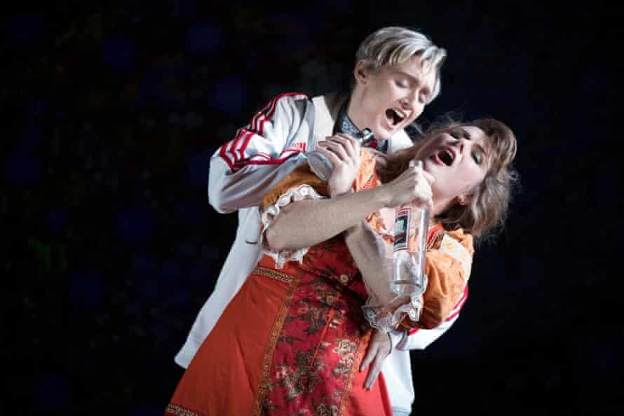Heather Lowe as Lel and Elin Pritchard as Kupava.