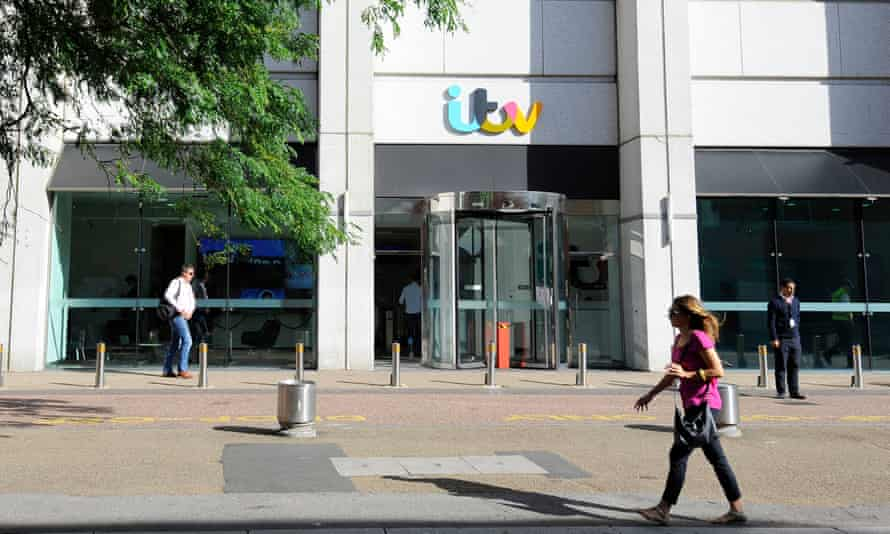 The ITV studios on the South Bank in London.