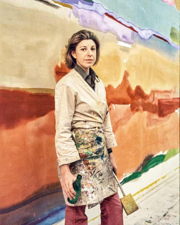 Mind on fire … Frankenthaler in her East 83rd Street studio in 1974.