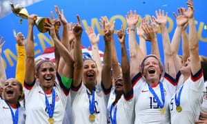 The US won the Women's World Cup in July.