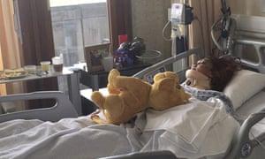 Corine Bastide in hospital in Liège after car crash