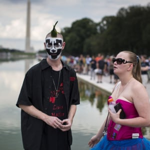 """Insane Clown Posse fans were designated a """"gang"""" in a 2011 FBI report, leading to discrimination, they said"""