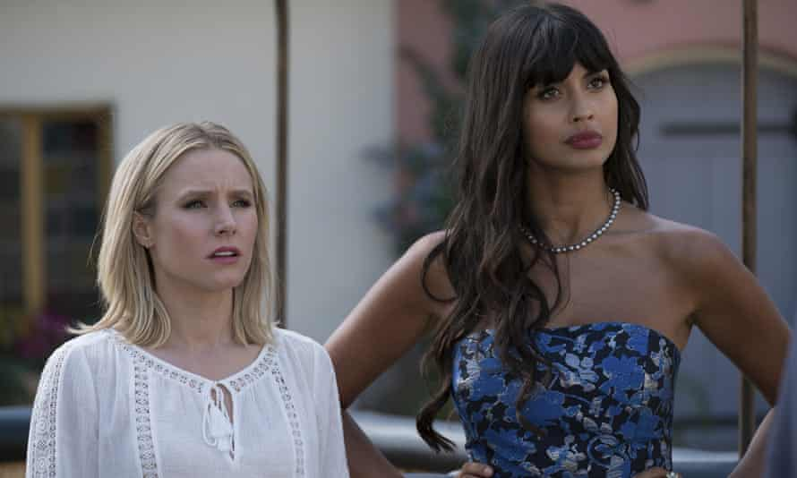 Eleanor and Tahani in The Good Place