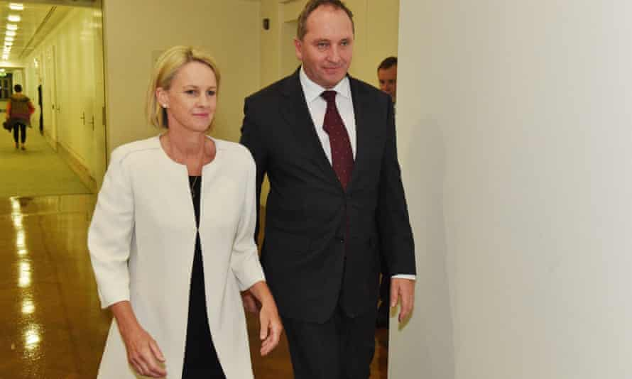 Newly elected Nationals deputy leader Fiona Nash and leader Barnaby Joyce said in 2005 that using copper wire for the internet was becoming 'redundant'.