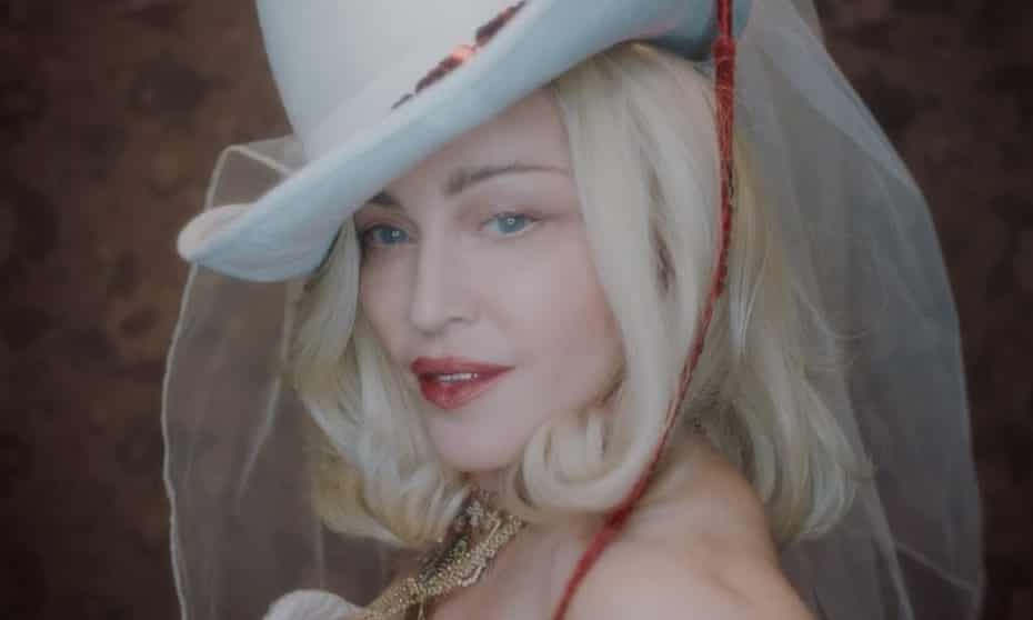 Madonna in the teaser video for Madame X.