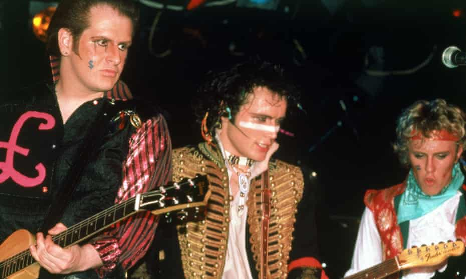 'I tied my colours to their mast in a way I never had with any artist before, and never would again' ... Adam and the Ants.