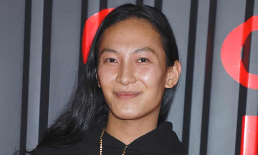 Alexander Wang smiles at the camera