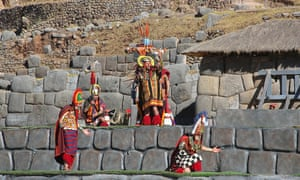 Featuring a dazzling array of costumes worn by hundreds of performers, the spectacle takes place in front of thousands of (fee-paying) tourists and locals at Sacsayhuaman, the Inca fortress above Cusco.
