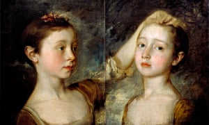 Collection name - V&A 'Portrait of the Painter's Two Daughters', 1758,