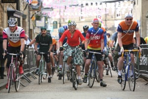 RIders in Bakewell