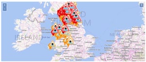 UK live flood updates