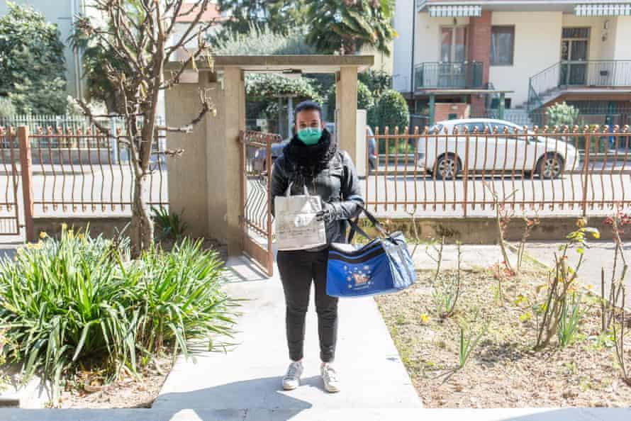 "Alessia, 20. Tortellini and passatelli ordered from ""La Sosta"" restaurant, 19 March"