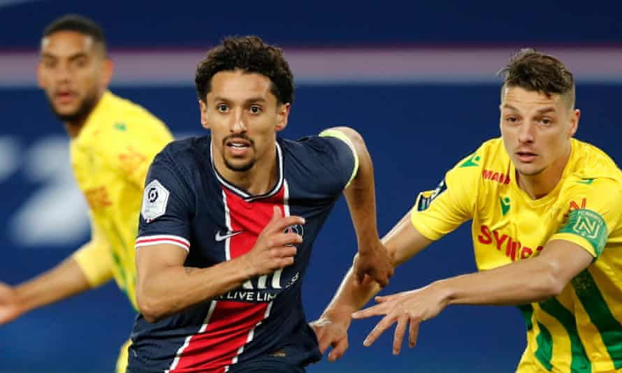 Marquinhos has said his parents' home was also targeted on Sunday evening.