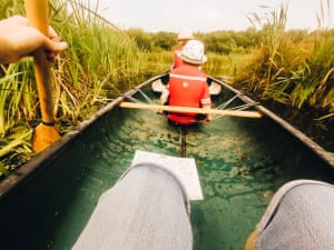 A canoe adventure Photograph: Rachael Smith/GuardianWitness