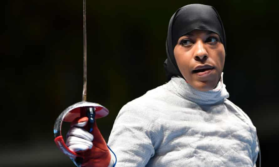 Ibtihaj Muhammad: 'it's about challenging those misconceptions that people have about who the Muslim woman is'