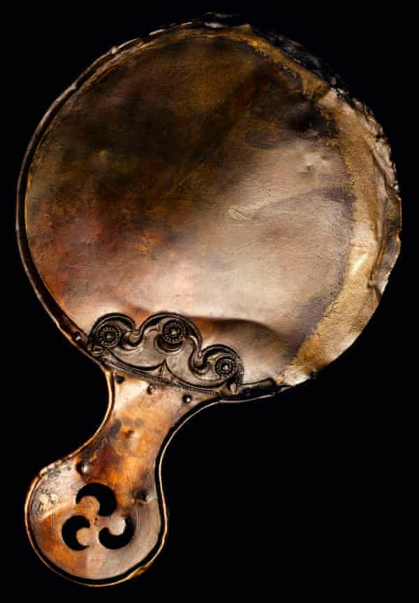 The Balmaclellan mirror from south-west Scotland, AD80-250.