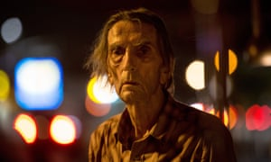 Harry Dean Stanton in what will be his final film, Lucky.