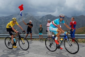 <strong>Stage Seventeen</strong><br>Stage Location: Digne-Les-Bains to Pra Loup<br>Stage Winner: Simon Geschke<br>Vincenzo Nibali attacks Chris Froome on the climb of the Col d'Allos