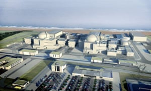 An artist's impression of Hinkley Point C.