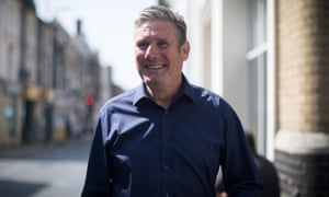Labour Leader Keir Starmer in Ipswich on Thursday.
