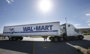 A suit accused Walmart of not properly paying truck drivers for activities that included inspecting and washing their trucks and for layovers.
