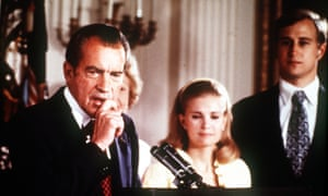 Richard Nixon makes his resignation speech, 1974